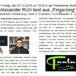 Lesung Flörsheimer Buchhandlung mit Fanta5