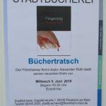Lesung Stadtbücherei Flörsheim