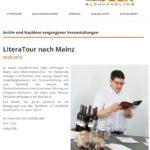 Lesung LiteraTour Gabsheim